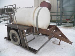 reworked sap hauling tank