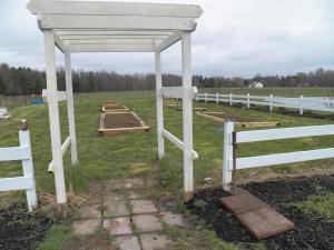 Our garden entrance